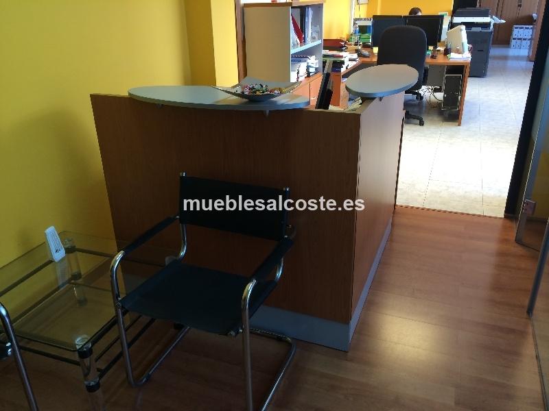 mueble recepcion estilo moderno acabado melamina cod