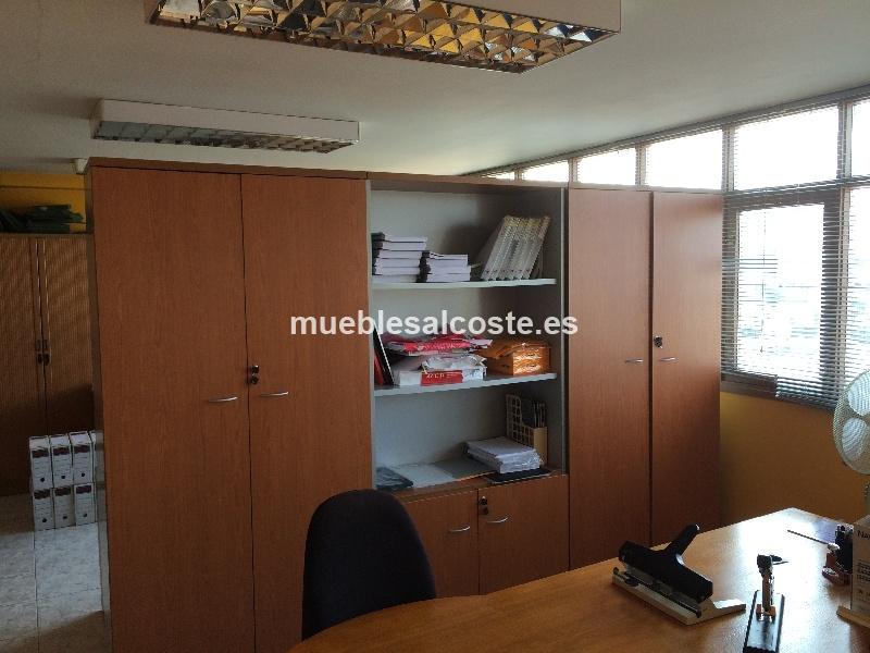 Armarios oficina estilo moderno acabado melamina cod for Armario oficina segunda mano