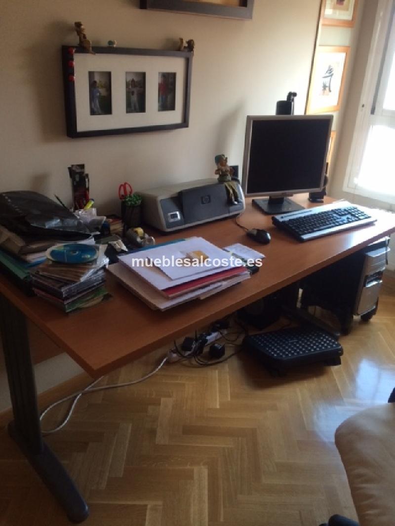 Mesa buc de oficina cod 12439 segunda mano for Mesa oficina segunda mano