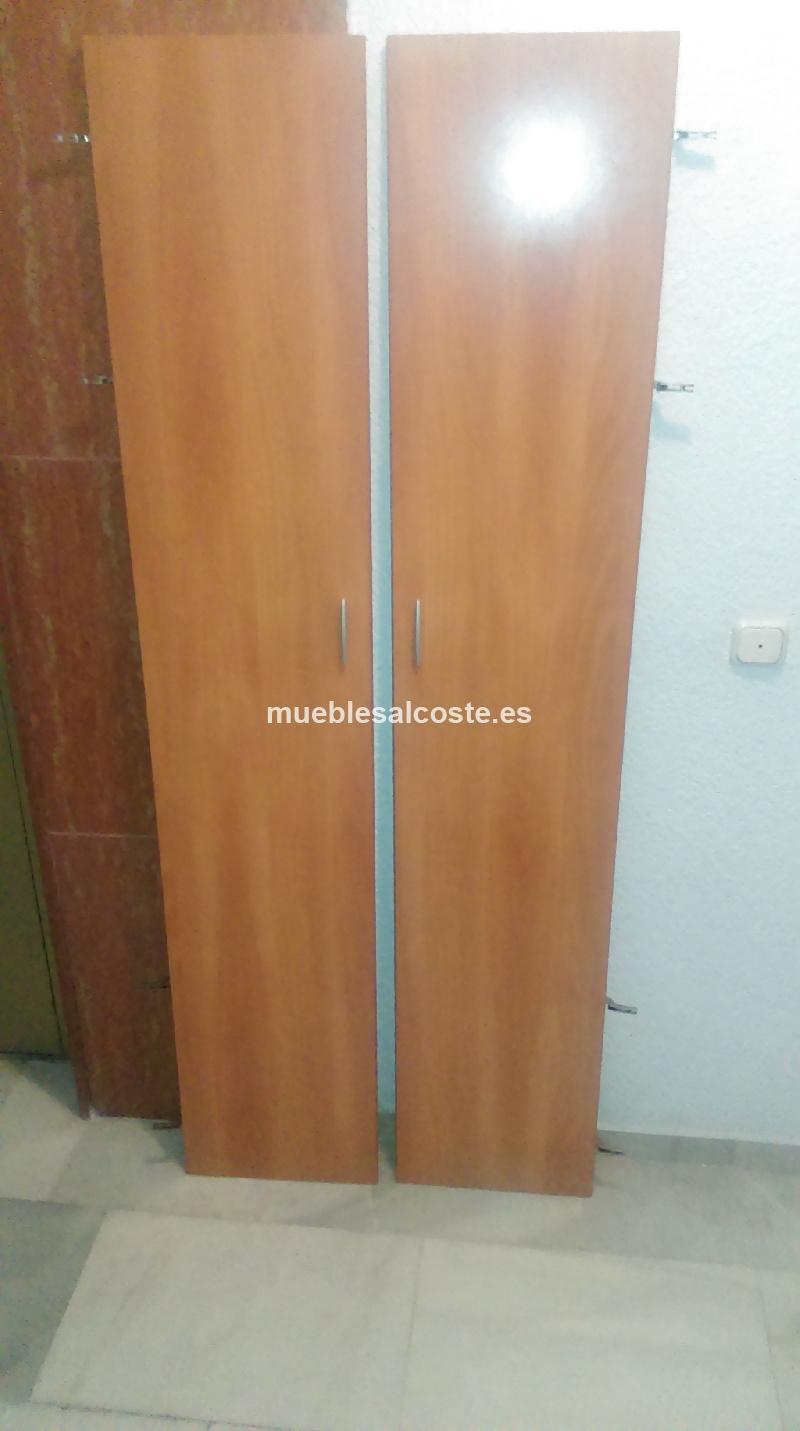 Dos puertas de armario de dormitorio cod 12636 segunda - Armarios dos puertas ...