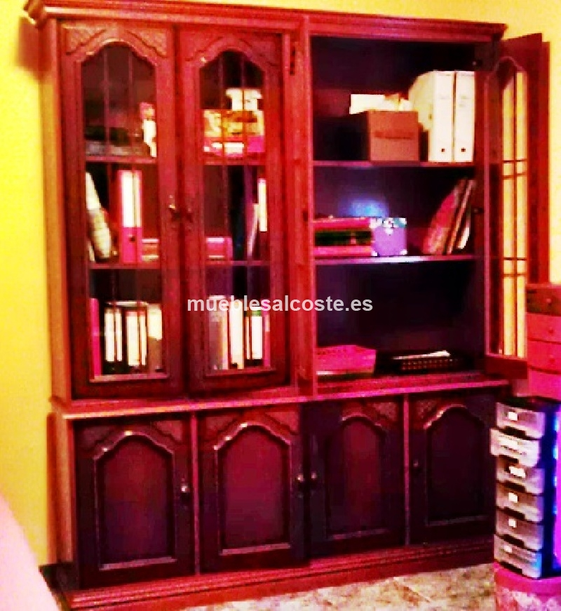 Muebles libros lote objetos cod 12670 segunda mano for Muebles para libros