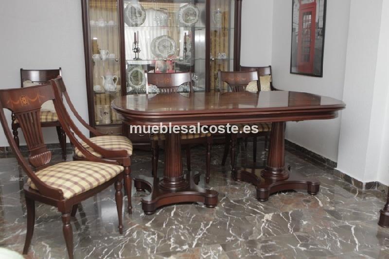 Comedor completo, estilo Clásico - Neoclásico, acabado Madera cod ...