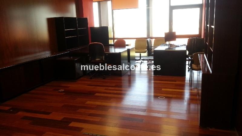 Muebles oficina estilo moderno acabado madera cod 12686 for Muebles de oficina 2000