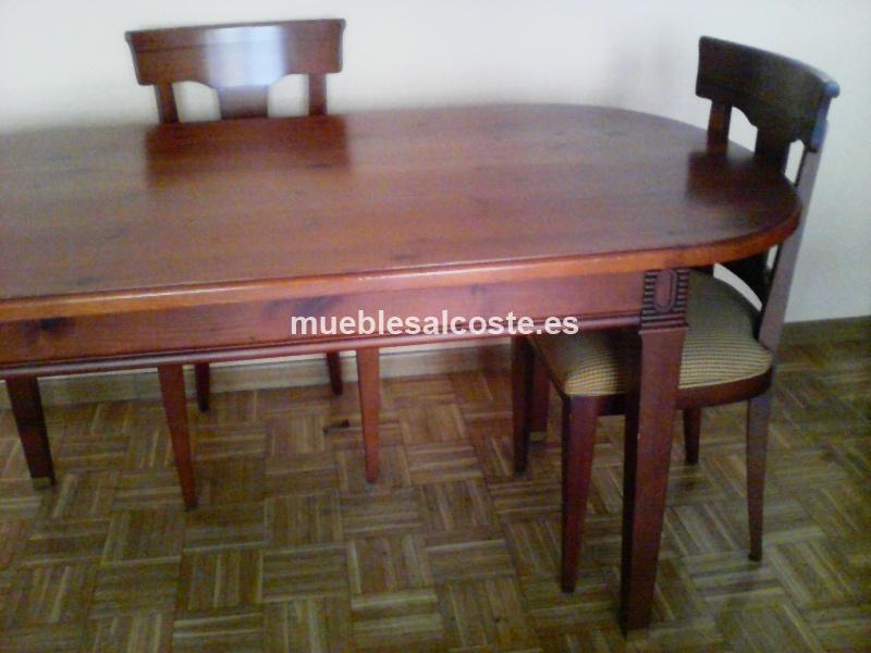 Mesa comedor, estilo Madera, acabado Madera cod:12702 segunda mano ...