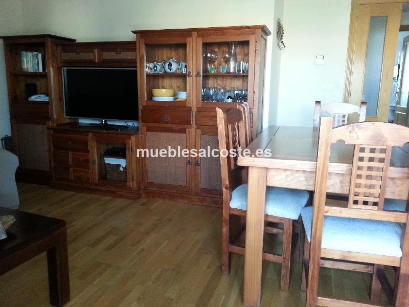 Mueble de salon y mesa con seis sillas cod 12711 segunda - Muebles de salon segunda mano ...