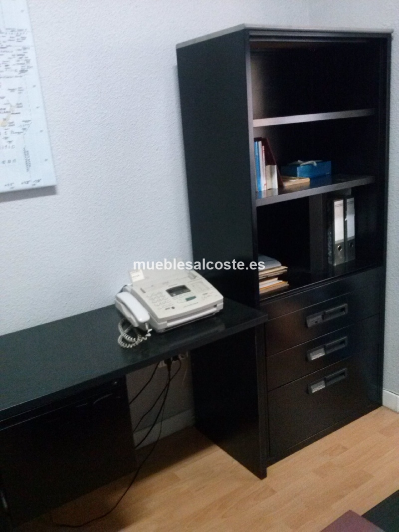 Muebles oficina cod 12715 segunda mano for Mobiliario oficina segunda mano