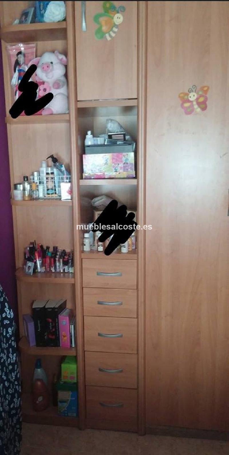 Dormitorio juvenil de chica 12748 segunda mano - Dormitorio juvenil chica ...