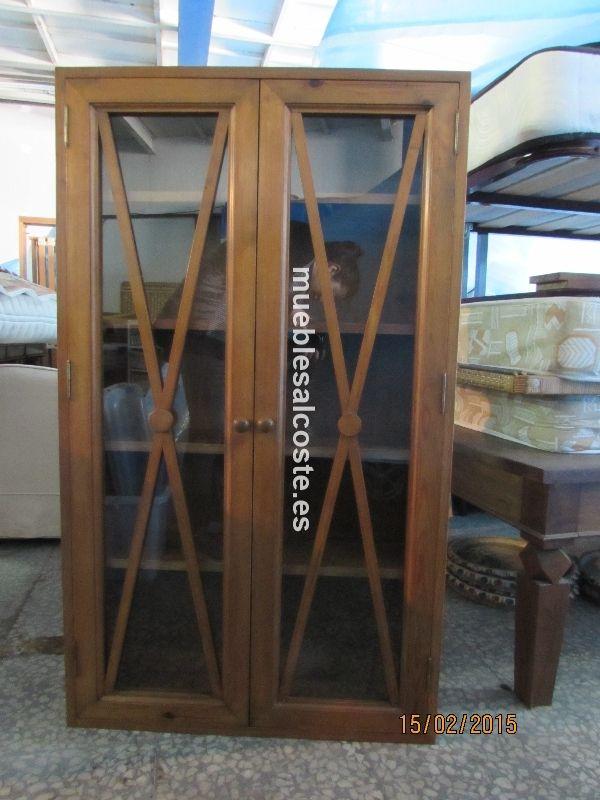 Armario puertas cristal cod 13607 segunda mano - Puertas interior segunda mano ...