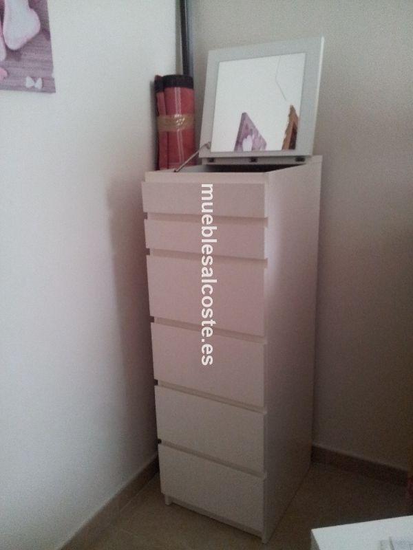 Comoda Blanca Ikea Cod 14052 Segunda Mano Mueblesalcoste Es