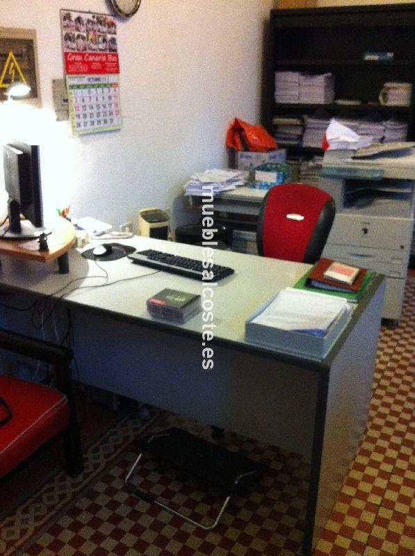 Mesa de oficina cod 14699 segunda mano for Mesa oficina segunda mano
