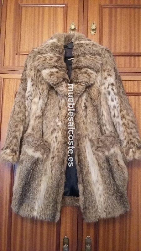Abrigo piel de lince