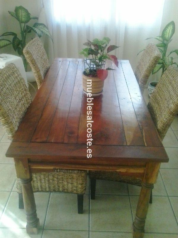 Preciosos muebles de comedor estilo rustico valencia for Muebles estilo rustico