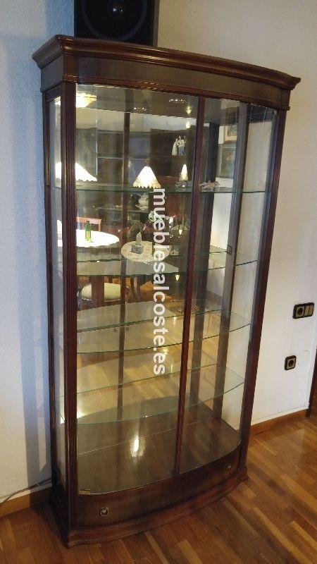 Mueble vitrina de cristal cod 20019 segunda mano - Vitrinas de cristal de segunda mano ...