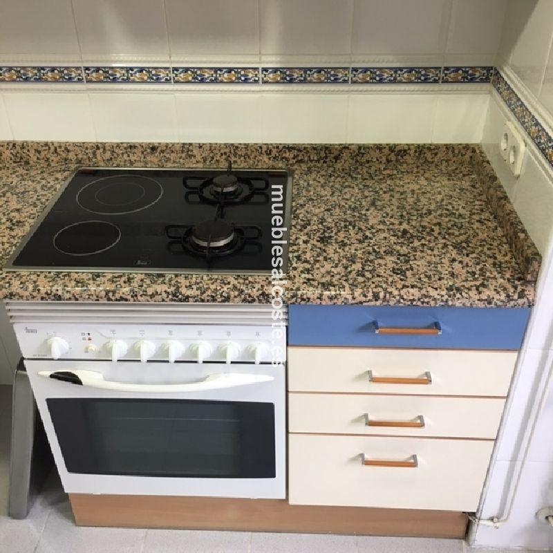 Muebles de cocina + fregadero + horno y placa cod:23116 segunda mano ...