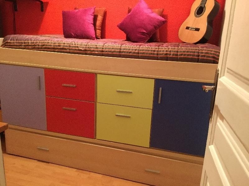 mueble nido con armario incorporado cod 19597 segunda mano