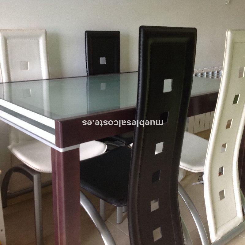 Mesa comedor extensible con 4 sillas cod 13409 segunda - Mesa comedor 4 sillas ...