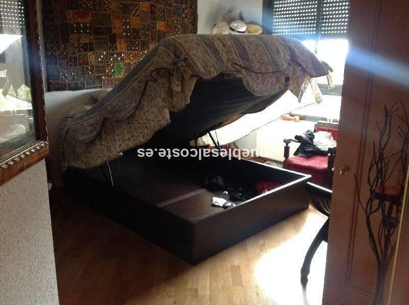 Cama matrimonio con canape cod 15657 segunda mano for Sofa cama matrimonio segunda mano