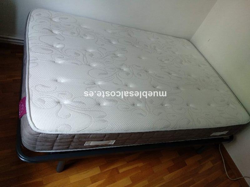 cama nueva colchon + somier