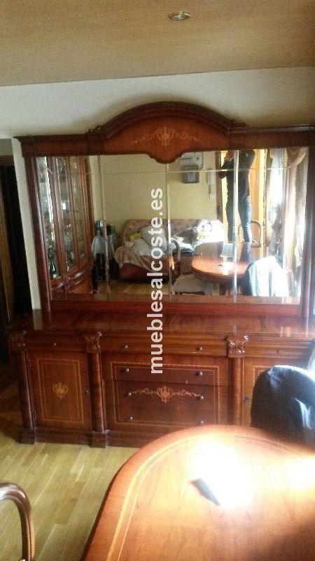 Aparador con espejo grande cod 17931 segunda mano for Espejo salon grande