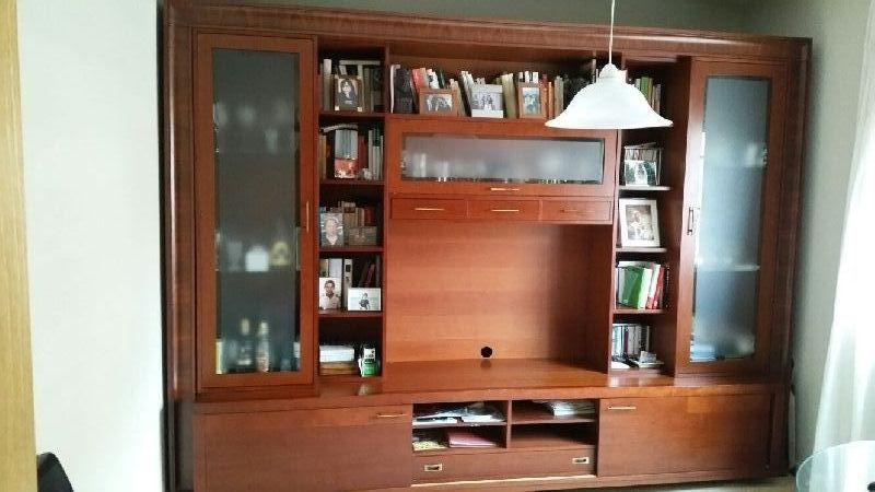 Mueble salon cerezo