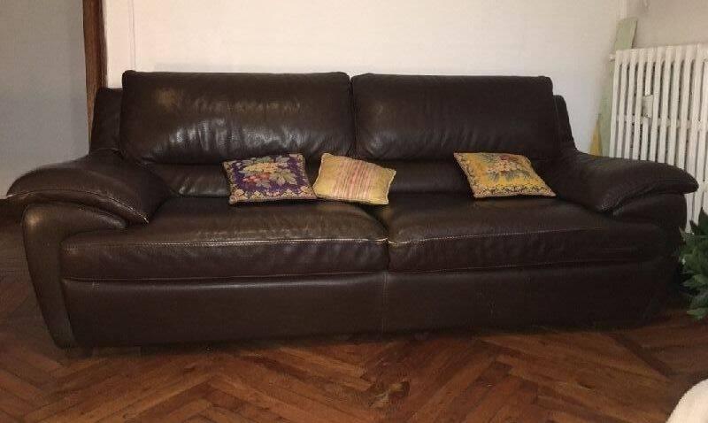 Sofa piel natuzzi cod 23822 segunda mano - Sofas natuzzi precios ...