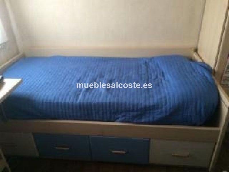 Habitacion infantil juvenil cod 14246 segunda mano for Habitacion infantil juvenil