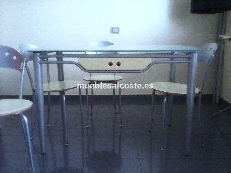 Mesa cocina sillas cod 12673 segunda mano - Sillas cocina segunda mano ...