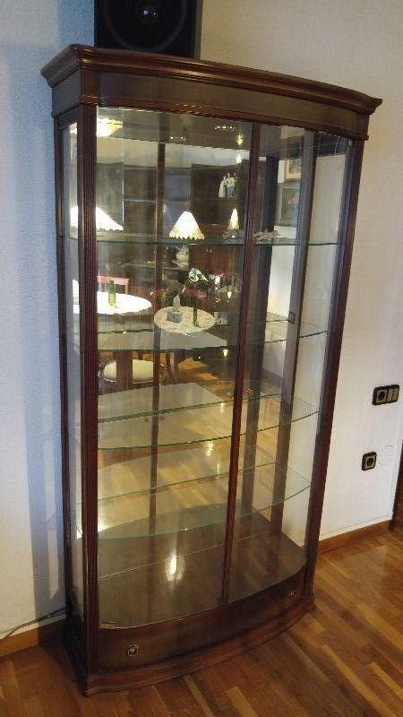 Mueble vitrina de cristal cod 20009 segunda mano - Vitrinas de cristal de segunda mano ...