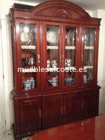 Tiendas De Muebles Segunda Mano : Vitrina estilo clásico neoclásico acabado chapa