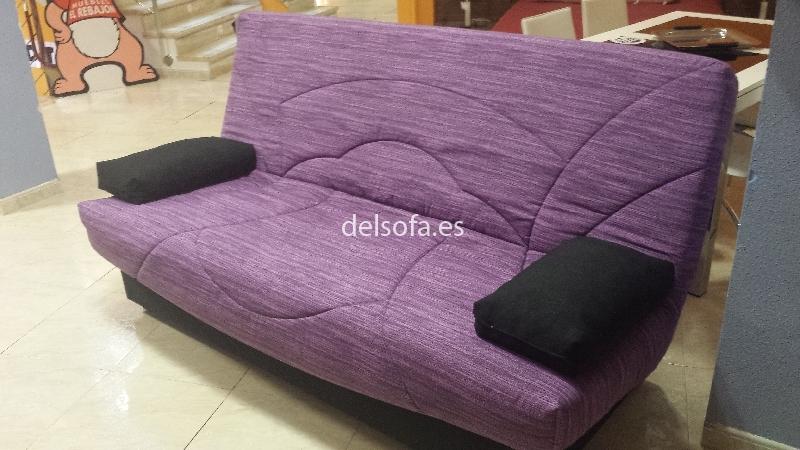 sofa cama libro telas a elegir