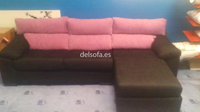 sofa cheslong reversible
