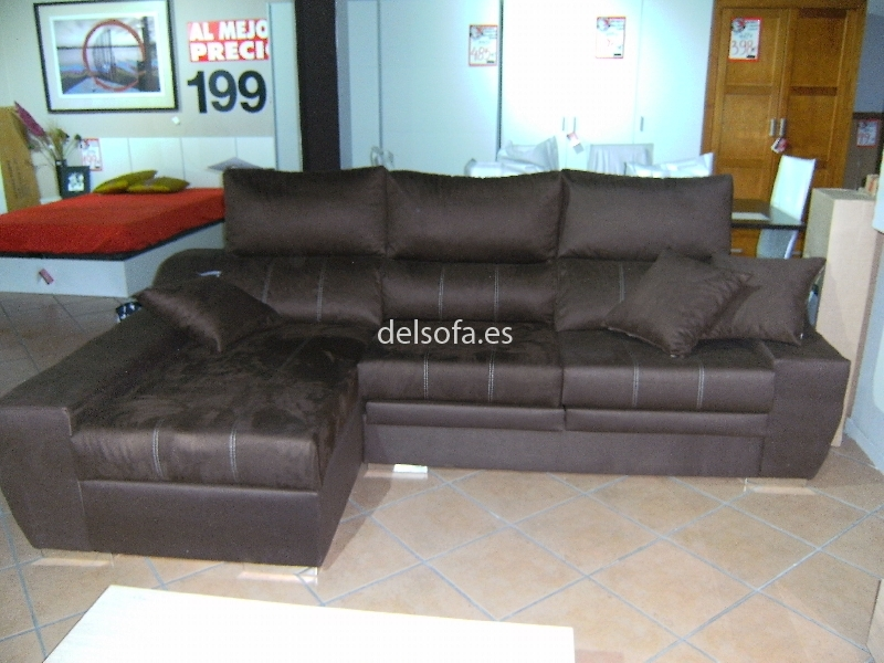 CHAISELONGUE NOBUCK
