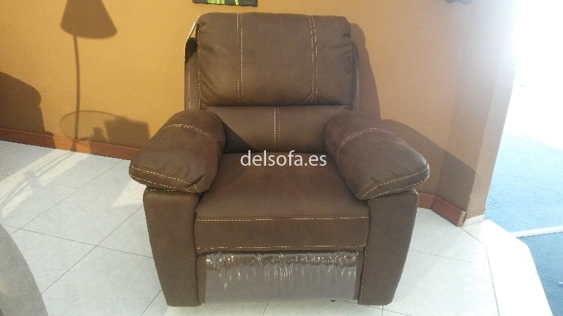 Sillon relax marron